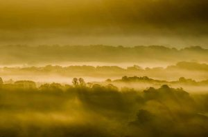 A misty Meon Valley captured on the morning of the Autumn Equinox shown in the published photographs gallery of Out To Grass Photography