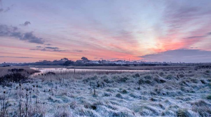 Sunrise from the Meon Shore