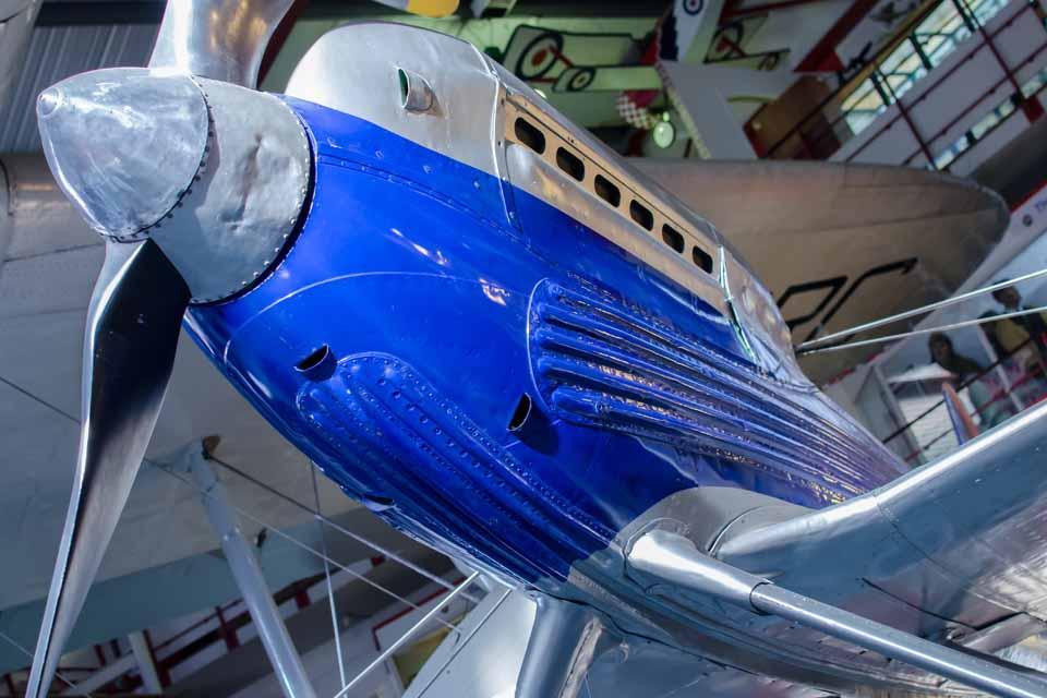 Supermarine Schneider Trophy exhibit at Solent Sky Museum