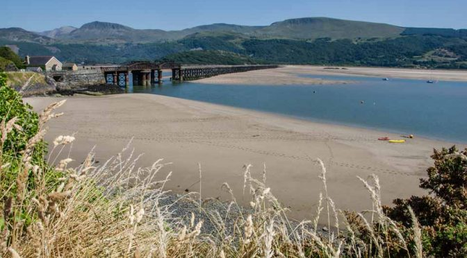 Barmouth is at the end of the Mawddach Trail a stunning walking and cycling path along the Mawddach estury