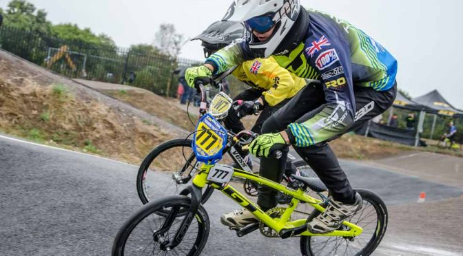 South Region BMX Racing at Gosport BMX track