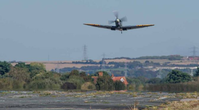Take off at Solent Airport Daedalus