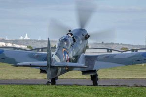 Boultbee Spitfire at Solent Airport
