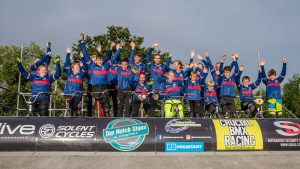 Gosport BMX World Championships team